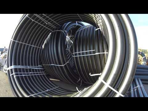 Газовые трубы ПНД Ф110 в бухтах - ПромПолимерСервис