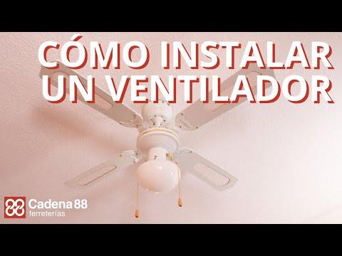 Ventilador techo VTR 3300 con luz Habitex