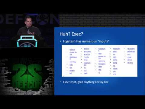 DEF CON 22- Zach Fasel - Logging ALL THE THINGS Without All The Cost With Open Source Big Data Tools