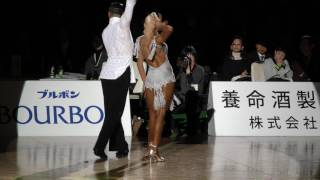 4K 2017 WDSF World Open Latin in Tokyo | Gabriele Goffredo - Anna Matus, MDA | Honor Rumba