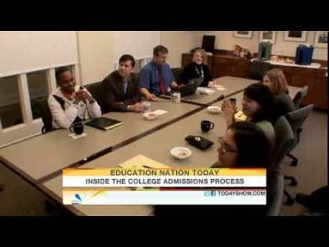 Inside the college admissions process   Parenting   TODAYshow com