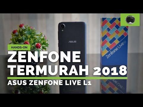 TERMURAH DARI ASUS   Hands-on ZenFone Live L1
