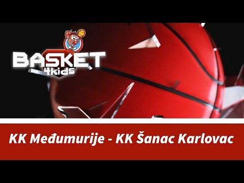 BASKET 4 KIDS | KK Međumurije - KK Šanac Karlovac | Basket4Kids Čakovec