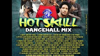 DJ KENNY HOT SKULL DANCEHALL MIX DEC 2014