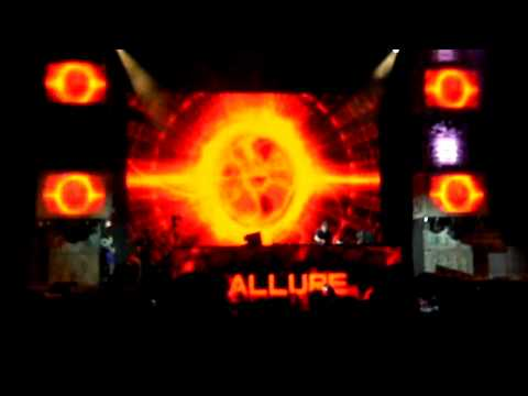Allure & Tiesto exclusive promo track at sunrise festival 2012 live