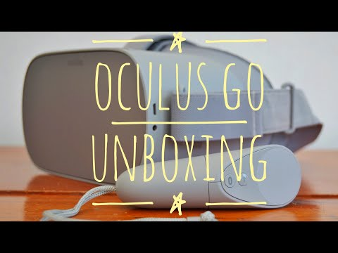 Oculus Go Unboxing and Initial Review - Standalone, Wireless VR