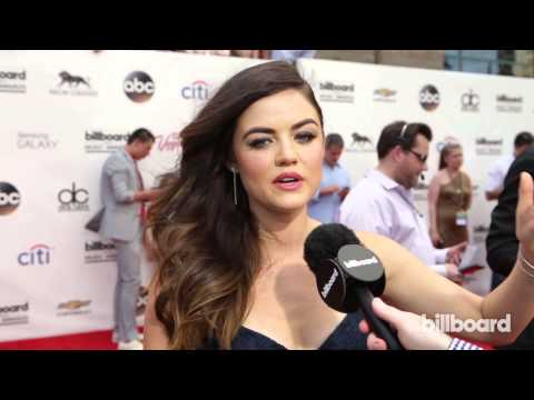 Lucy Hale: Billboard Music Awards Red Carpet 2014