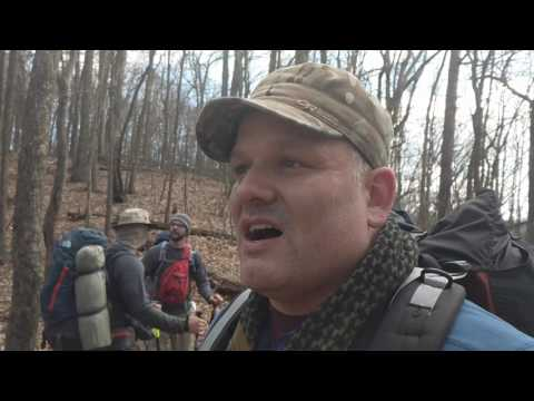 Appalachian Trail section hike: Fontana to Locus Cove Gap