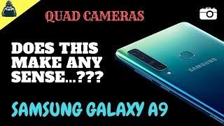 Quad cameras | Does this make any sense | Samsung galaxy A9 | Techie Dude