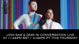 Download Lagu LIVE Sam Smith Demi Lovato in conversation - I m Ready MP3