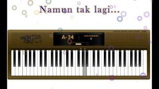 Gaby - tinggal kenangan (Piano cover + Lirik)