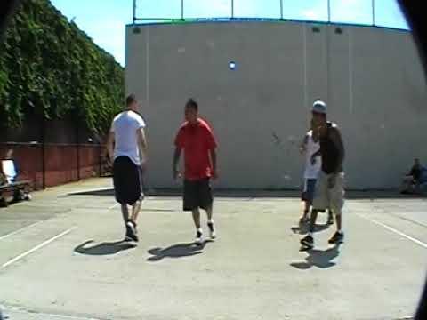 DANNY (BASEBALL) & DAVID VS LOU & JOSE  2012