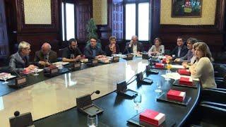 Catalonia: First Parliament meeting since referendum