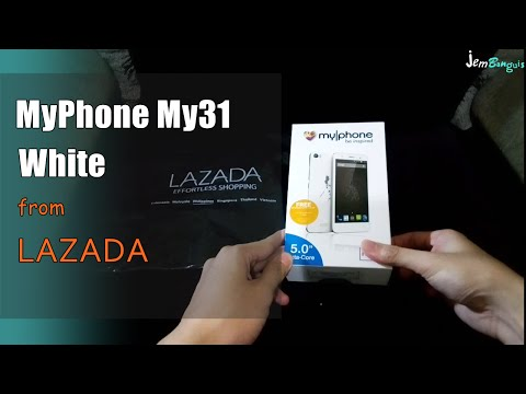 MyPhone My31 White - Unboxing