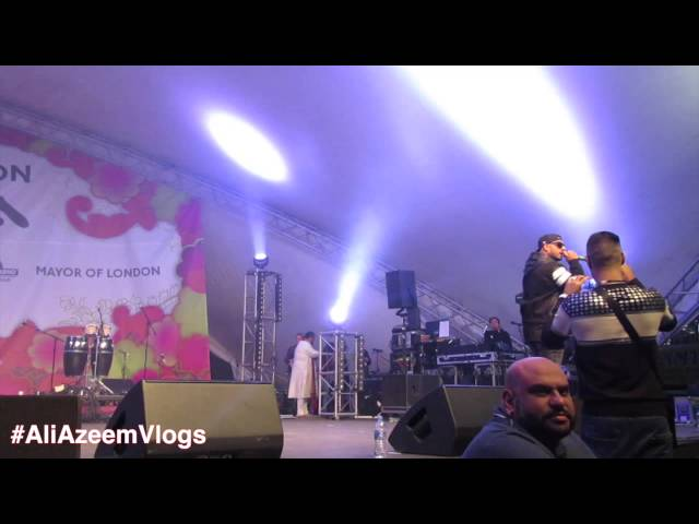 Imran khan London Mela and BBC Asian Network 2015 #ALIAZEEMVLOGS