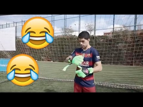 FC Barcelona Funny Moments · Part II · MSN, Goalkeeper Suárez, Commercials & More · Funniest Moments