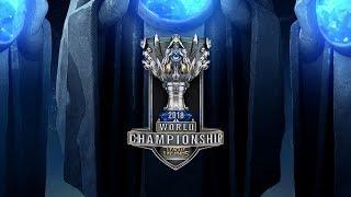 AFS vs. C9 - FNC vs. EDG   Quarterfinals Day 2   2018 World Championship