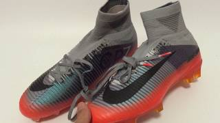 2017-18 nike mercuria superfly v cr7 fg soccer boots