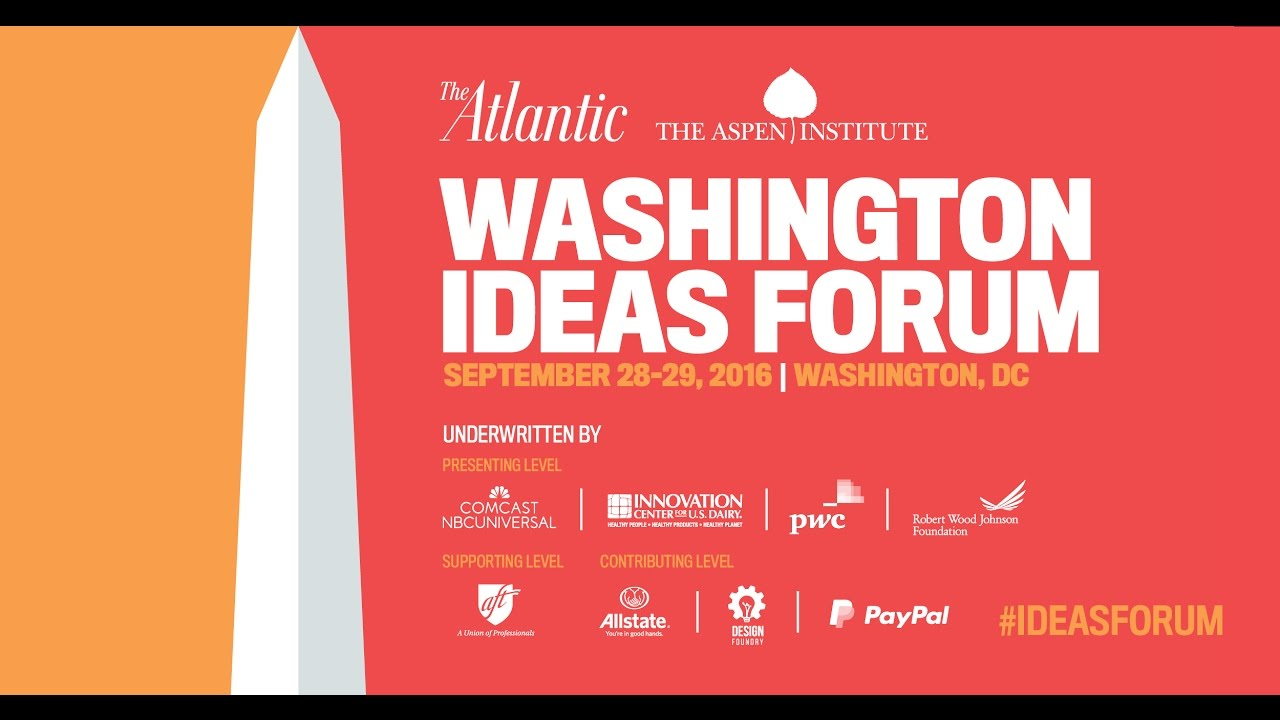Drew Gilpin Faust and John DeGioia / Washington Ideas Forum