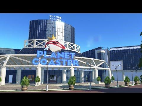 Planet Coaster - LA Convention Center Park (Timelapse)