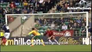 Scotland vs Australia 3-1 all goals