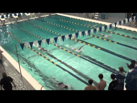 Boys Swimming 1-5-12 Catholic Central at YMCA Downtown 3