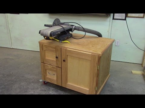 89 Building Belt Sander Table with built in dust collection Part 2 of 2