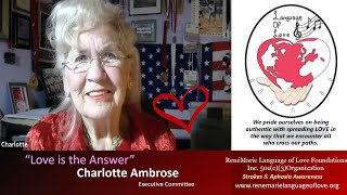 LOVE IS THE ANSWER - Charlotte Ambrose