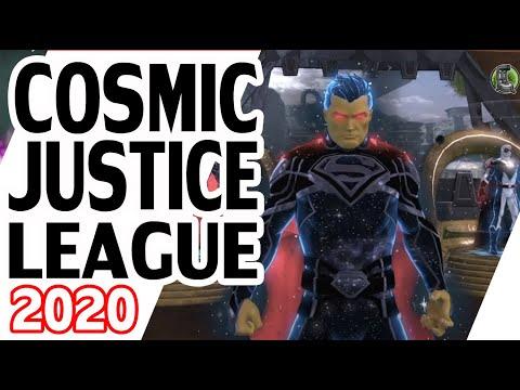 DCUO Cosmic Justice League |