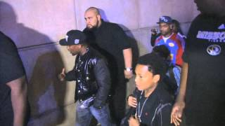 Floyd Mayweather jr Leaves Staples Center