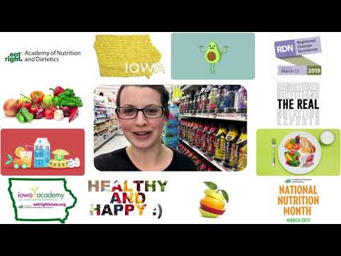 National Nutrition Month - Katie Squires