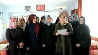 FAHRİ KURAN KURSU ÖĞRETİCİLERİ BASIN AÇIKLAMASI YAPTI 2017 Video