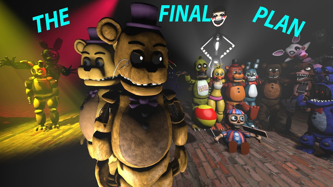 Sfm Fnaf O Plano Final Pt Br Zajcu37 Legendado Youtube