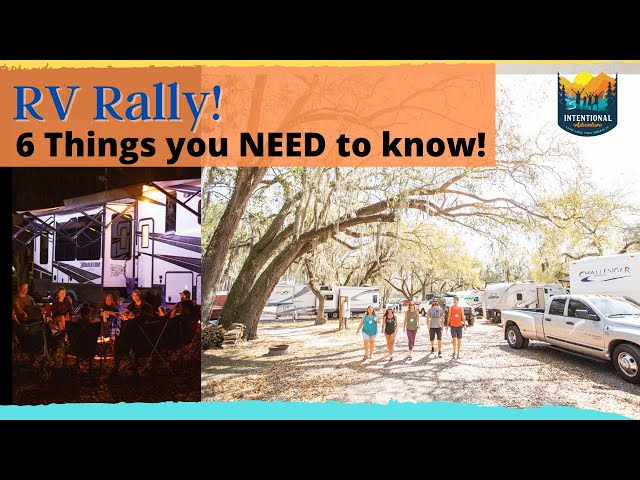 6 Things you need to know about an RV Rally! | RV Living | Fulltime Families