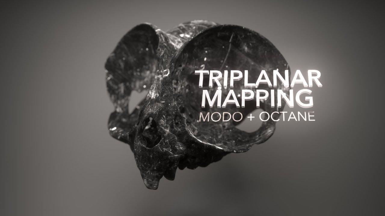 MODO + Octane | Triplanar Mapping - YouTube