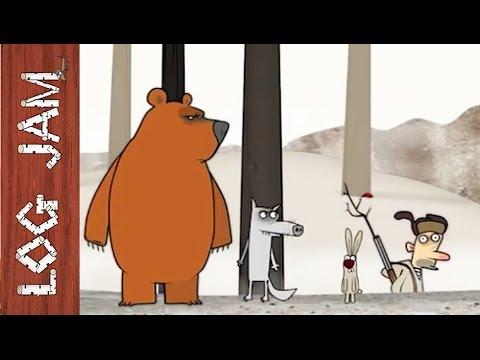 Смотреть трио в лесу мультфильм