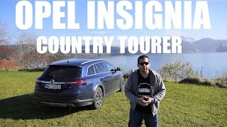 (ENG) Opel (Vauxhall) Insignia Country Tourer BiTurbo - Test Drive and Review
