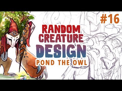 Re-drawing an old giant friend! RANDOM CREATURE DESIGN #16