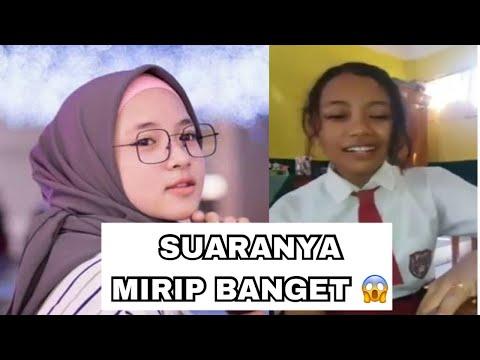 VIRAL ! Siswi SD Tirukan Nissa Sabyan Nyanyi Lagu Deen Assalam ( Suaranya Mirip Banget )