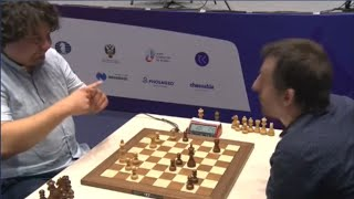 The Signal For Chess Players To Offer The Draw || FIDE World Cup 2021