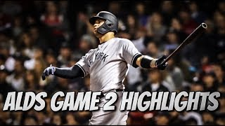 ALDS Game 2: Yankees @ Red Sox   Yankees Highlights