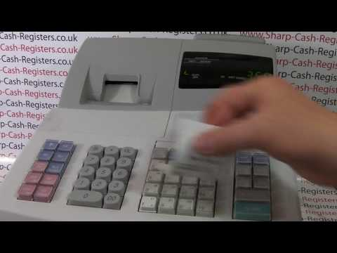 sharp electronic cash register xe-a303 not assigned