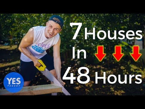 Building 7 houses in 48 hours (TRANSFORMATION)
