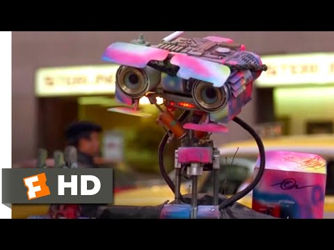 Short Circuit 2 (1988) - Gang Initiation Scene (3/10) | Movieclips