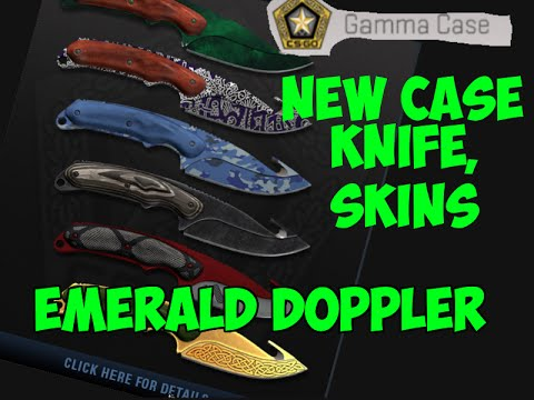 cs go new gamma case green doppler dragon lore knife new knife