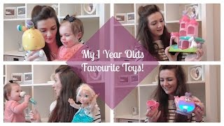 My 1 Year Old's Top/Best Toys! 1 Year Old Gift Ideas