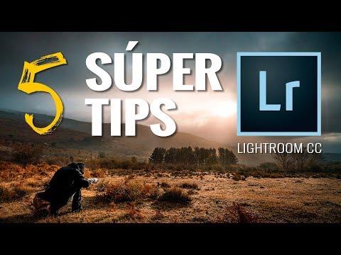5 SÚPER CONSEJOS o TIPS en ADOBE LIGHTROOM CC (Classic)