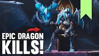 *GLITCH* GETTING KILLS WITH A DRAGON! | FORTNITE FUNNY FAILS AND BEST MOMENTS #085