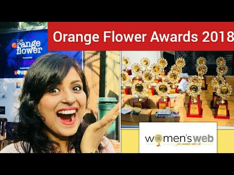 Orange Flower Awards 2018 Vlog by Women's Web. Empowering Women. Why Should Boys Have All The Fun