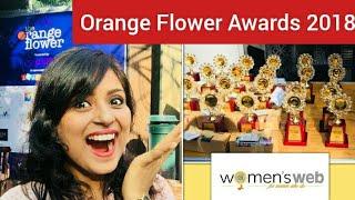 Orange Flower Awards 2018 Vlog by Women